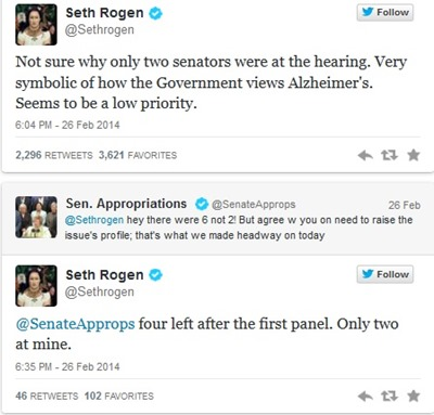 seth rogen and sen appropriations 1