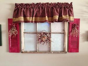 pinterest inspired - repurposed old window