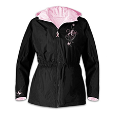 Ribbon Of Hope Womens Jacket