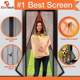 magneticscreendoorbyigottech thumb Magnetic Screen Door by iGotTech – A Must Have for Pet Owners