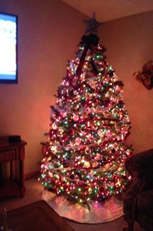 Gayla Taylor Family Christmas Tree