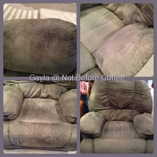 DIY How to clean microfiber furniture
