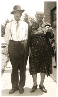 Great Grandpa Blaine and Great Grandma Rosa Huckeby