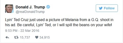 donald trump and ted cruz twitter battle 1