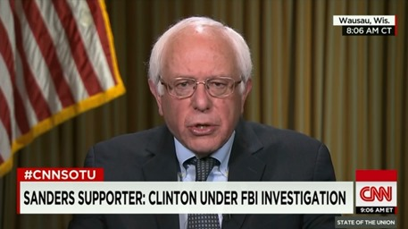 Bernie Sanders Encourages Anger and Hatred by Being the Do Nothing Say Nothing Man