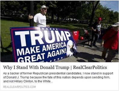 Bernie Marcus of Home Depot Endorses Donald Trump