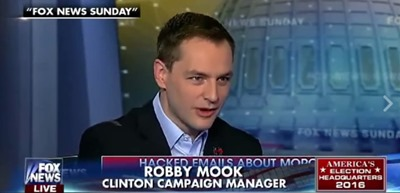 Clinton campaign manager Robby Mook Verifies the Validity of Wikileaks Documents