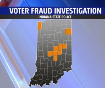 voter fraud Indiana 2016