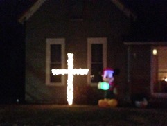 Knightstown Indiana Christmas Cross - Indiana ACLU (13)