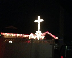 Knightstown Indiana Christmas Cross - Indiana ACLU (16)