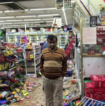 looters ferguson market
